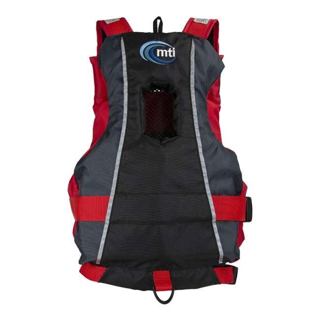 MTI-250D-0KA00 MTI Life Jackets Bob Youth Life Vest, Red 2