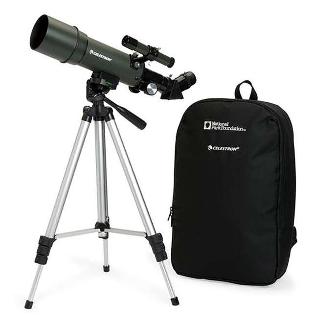 4 x 22005 [Copy 1] Celestron TravelScope 60AZ 60x 700mm Telescope, Silver (4 Pack) 6