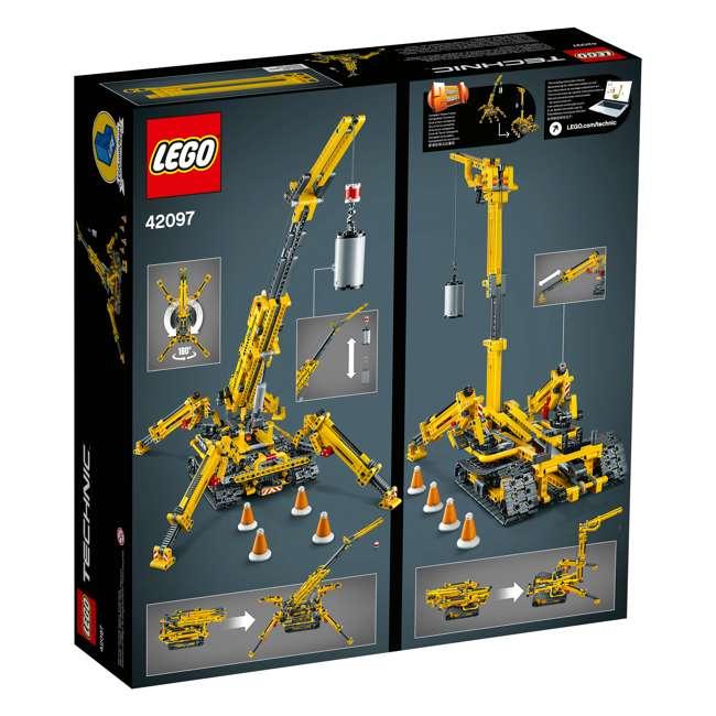 6251555 LEGO Technic 42097 Compact Crawler Crane 920 Piece Construction Building Set 8
