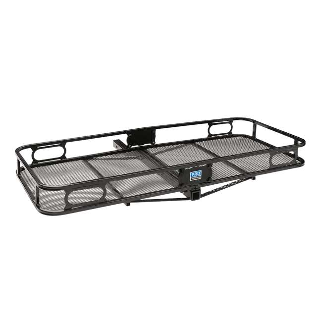 """PRO-SERIES-63153 + SHP2040 Pro Series Cargo Basket + 5/8"""" Silent Hitch Pin Press-On Lock for 2"""" Hitches 1"""
