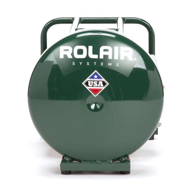 GD4000PV5H-U-B Rolair 4.5 Gallon Gas Powered Cordless Small Portable Air Compressor (Used) 1