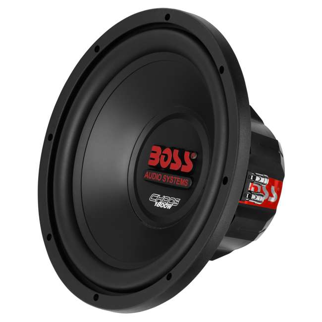 CH12DVC + VM12SEALED + AR16002 +AKS8 Boss CH12DVC 12-Inch 3600W Subwoofers with Sealed Box Enclosure with Amp with Amp Kit (Pair) 2