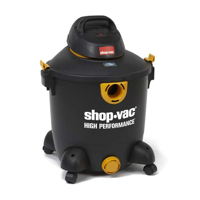 5987300 Shop Vac 12 Gallon 5.5 HP Wet Dry Vacuum Cleaner Portable High Performance 2