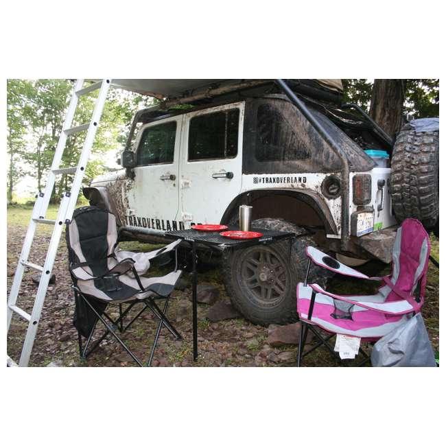 TGMESH Tailgater Tire Table Original Steel Tire-Mounted Folding Table 7
