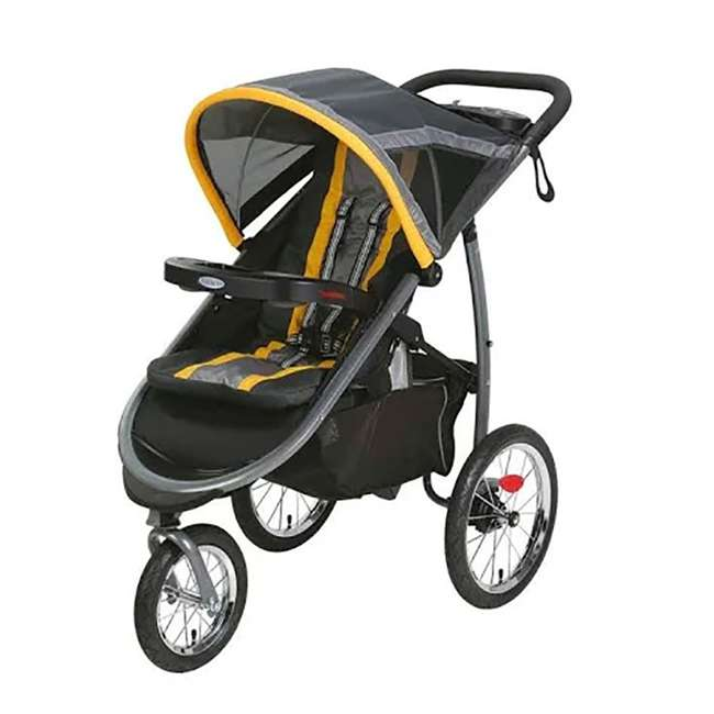 Graco FastAction All-Terrain Jogging Stroller Travel ...