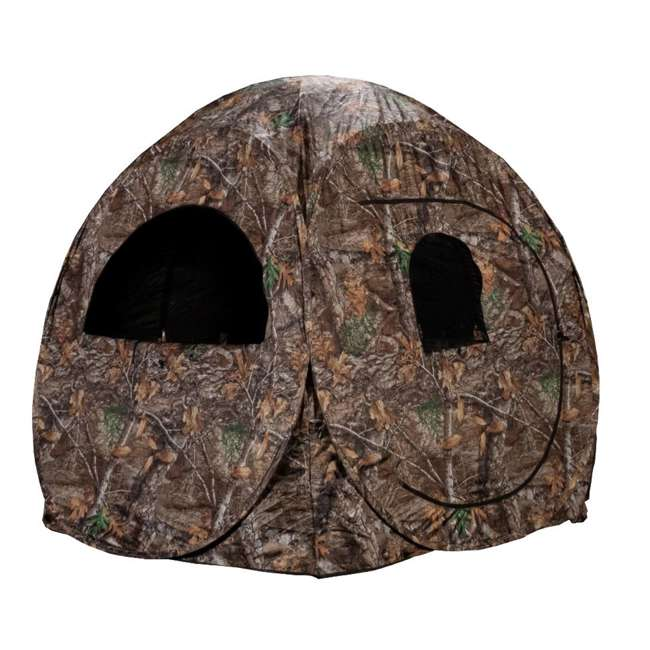 R75-RTE Rhino Blinds R75-RTE Real Tree Edge 2 Person Game Hunting Ground Blind, RealTree