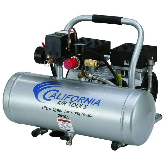 2010A 1 HP 2 Gal Ultra Quiet & Oil-Free Air Compressor 2