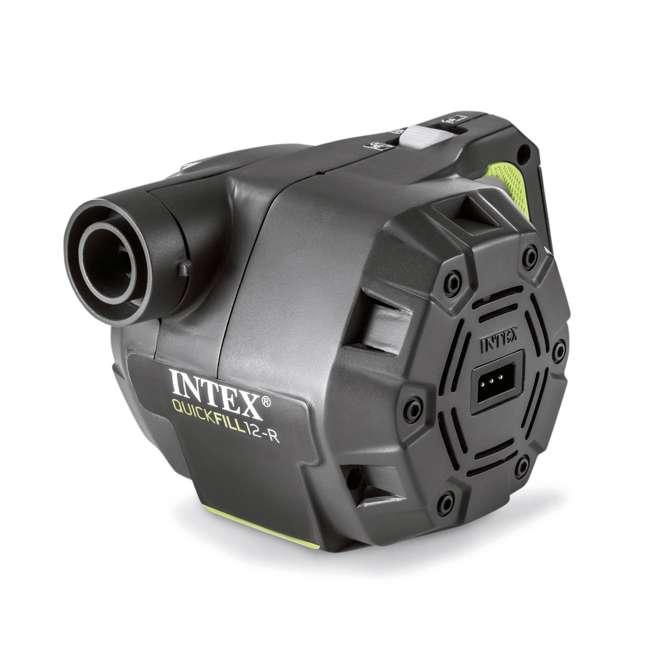 66641E + 66803EP Intex 120V Cordless Electric Air Pump Intex Kidz Inflatable Air Mattress w/ Bag 7