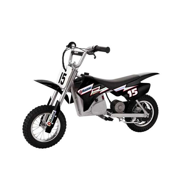 15128099 + 97775 + 96785 Razor MX350 Dirt Rocket Bike with Helmet, Elbow & Knee Pads 1