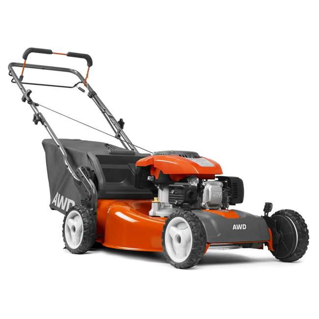 Husqvarna 22 Inch 149cc Self Propelled Awd Lawn Mower Hu675awd