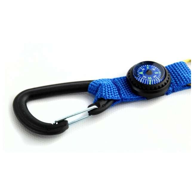 2801025 Silva Carabiner Key Ring and Liquid-Filled Compass 3
