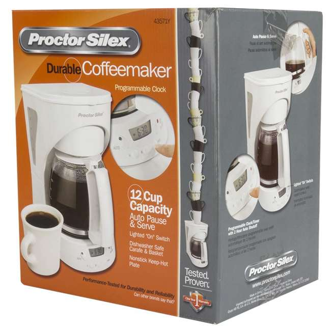 43571Y Proctor Silex 12-cup Automatic Coffee Maker | 43571Y 7