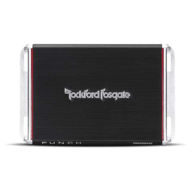 PBR400X4D Rockford Fosgate PBR400X4D Punch 400W Compact Full Range 4 Channel Amplifier 3