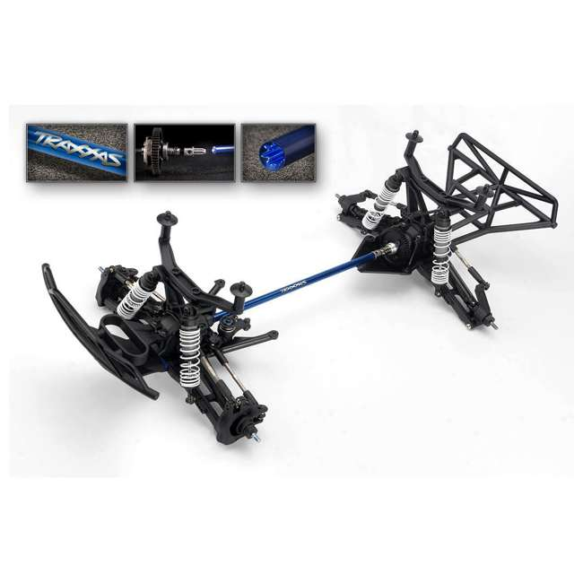 68086-4-FOX Traxxas Slash 4x4 Fox 1/10 Scale Brushless Short Course 4WD Truck with TQi Radio 5