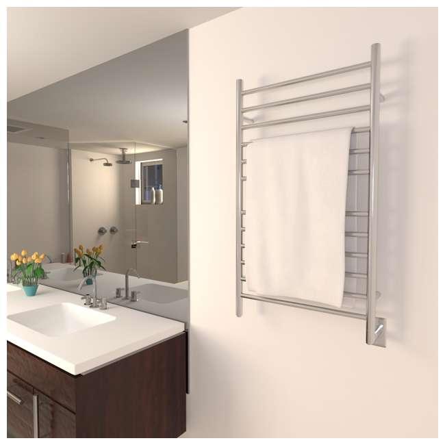 RWHL-SP Amba Radiant Large Hardwired Straight Towel Warmer, Polished 2