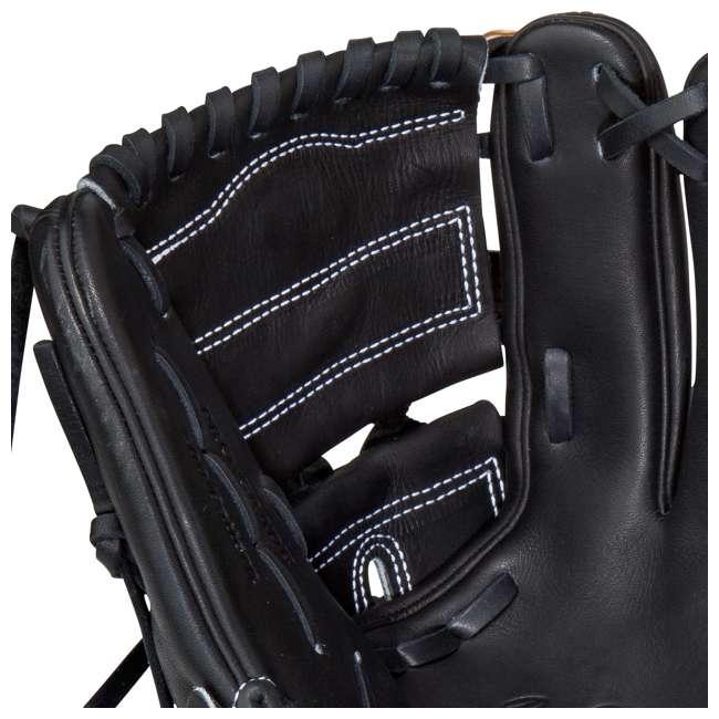 PRO206-9JB Rawlings Heart of the Hide 12-Inch Infield 2-Piece Adult Baseball Glove 3