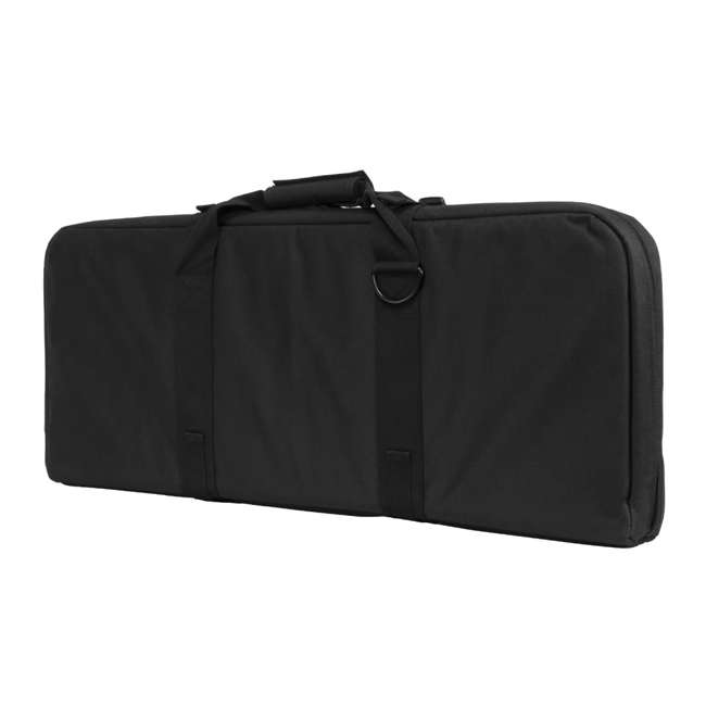 CVCPD2962B-28 NcSTAR VISM 28 Inch Double Pistol & Subgun Padded Soft Gun Case Carry Bag, Black 3