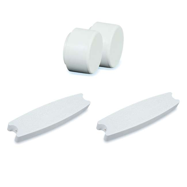87902 + 3 x 87901 Swimline Pool Ladder Replacement Rubber Bumper (Pair) Pool Ladder Step (3 Pack)