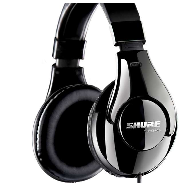 SRH240A Shure SRH240A Professional Over-Ear Headphones (2 Pack) 4