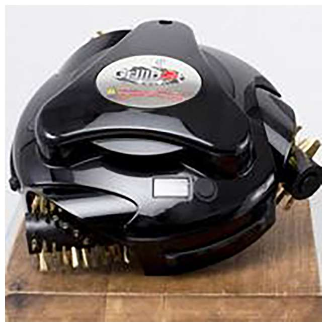 GBU102 Grillbot GBU102 Automatic Grill Cleaning Robot with Durable Brass Brushes, Black 2