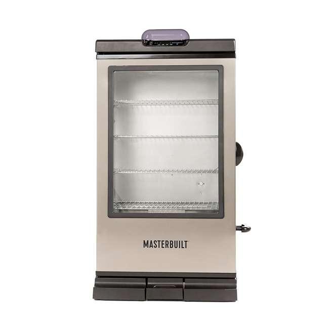 MB20076718 Masterbuilt MB20076718 Bluetooth Digital Display Stainless Electric Smoker