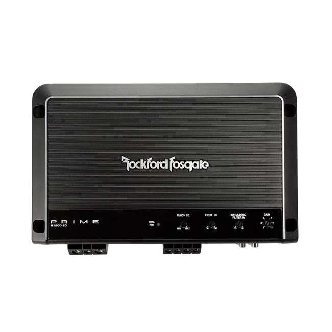 R1200-1D Rockford Fosgate R1200-1D 1200W Class-D Mono Amplifier (2 Pack) 2