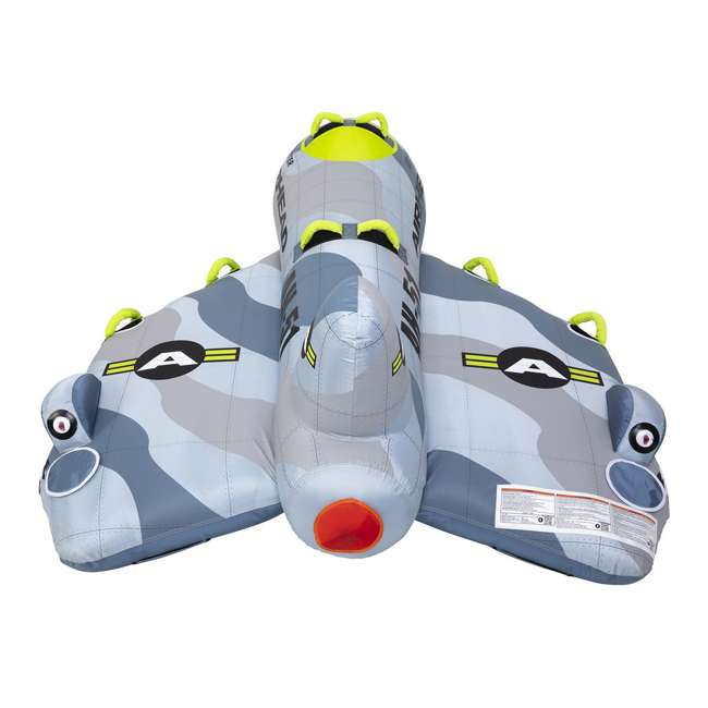 AHFJ-14 Airhead Jet Fighter Airplane 4 Person Inflatable Boat Towable Water Tube Raft 3
