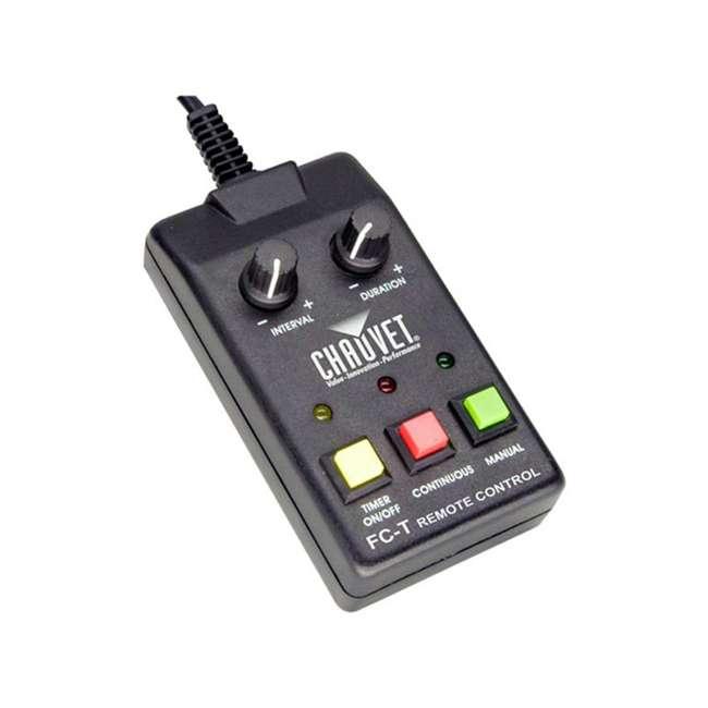 H1800FLEX + FJU + FC-W + MINISTROBE-LED Chauvet DJ Hurricane Flex Fog Machine w/ Fog Juice,Wireless Remote, Strobe Light 4