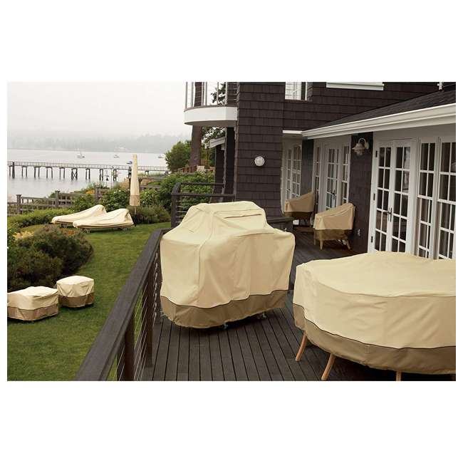 55-057-141501-00 Classic Accessories Veranda 70 Inch Outdoor Deck and Patio Water Fountain Cover 3