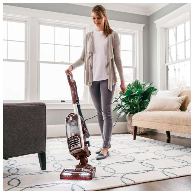 NV801-U-B Shark DuoClean Lift Away Speed Upright Canister Vacuum Cleaner (Used) 7