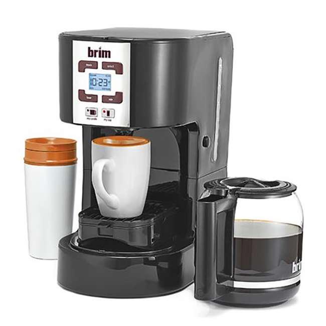 CM-105_EGB-RB BRIM Size Wise Programmable Coffee Maker Station, Black (Certified Refurbished) 4