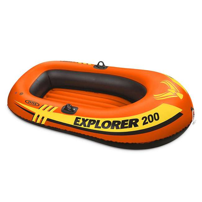4 x 58356WL-U-A Intex Explorer Pro Youth Boat Raft (Oars/Pump Not Included) (Open Box) (2 Pack)