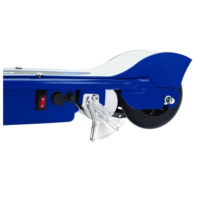 13111269 + 13111141 Razor E175 & E125 Kids 24V Motorized Battery Powered Scooter Toy, Pink & Blue 9