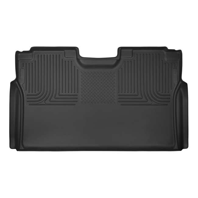 HUSKY-53491-OB Husky Liner X-act Contour Rear  Floor Liner for Ford F150 SuperCrew Cab