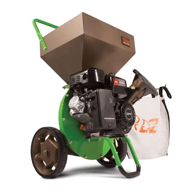 EARTH-30520 + EARTH-1692327 Earthquake Tazz Shredders Compact Wood Chipper & Chipper/Shredder Tow Bar Hitch 1