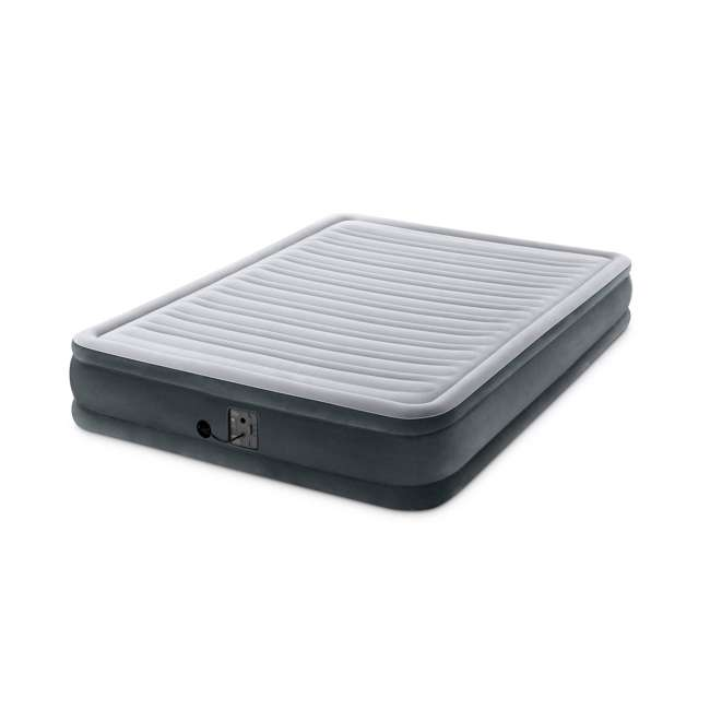 67769EP-U-A Intex Dura Beam Mid Rise Queen Air Mattress w/ Built In Pump  (Open Box) (2 Pack) 1