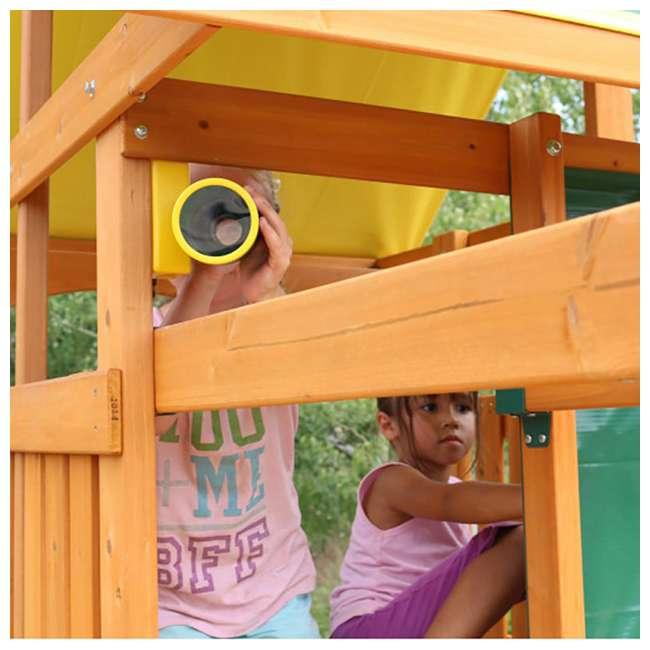 F23242 KidKraft F23235 Brookridge Childrens Wooden Outdoor Swing Set Playset Playground 3