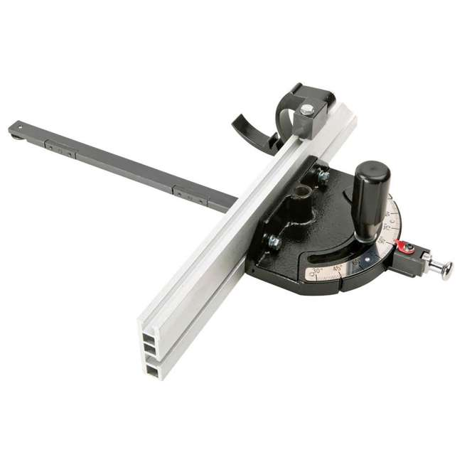 WOOD1820 Shop Fox W1820 3-HP Cabinet Table Saw with Riving Knife and Long Rails, White 2