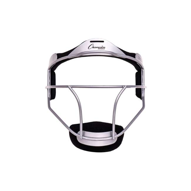 FMYSL Champion Sports Youth Softball Fielder's Metal Safety Face Mask/Guard, Silver