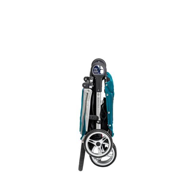 Baby Jogger City Mini Folding Baby Travel Stroller Teal