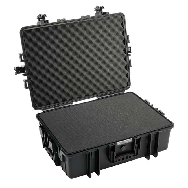6500/B + CS/3000 B&W International 6500/B Hard Plastic Outdoor Case and Shoulder Carry Strap 4