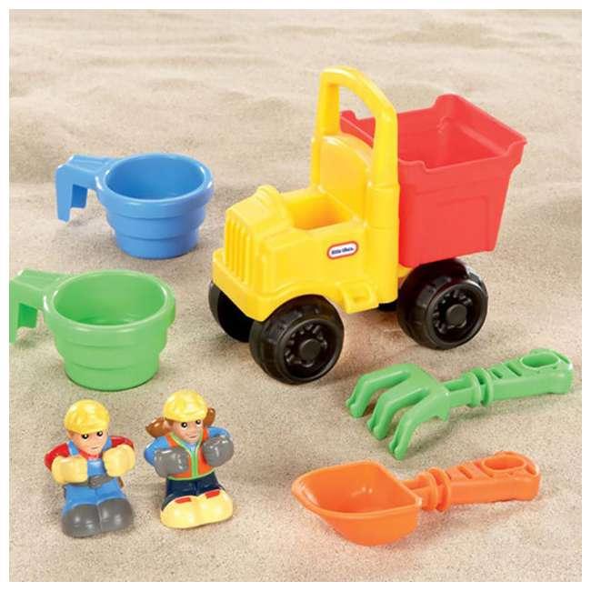 624520MP Little Tikes Big Digger Outdoor Sandbox with Crane, Gray/Blue 1