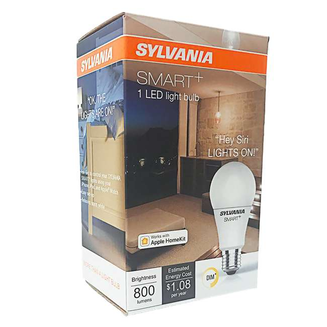 12 x SYL-74579 Sylvania Smart+ Bluetooth A19 LED Light Bulb (12 Pack) 3
