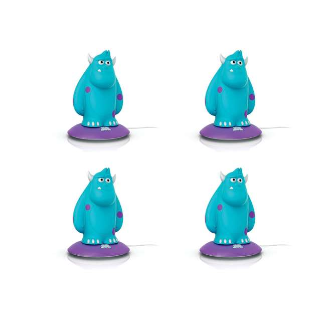 4 x PLC-798538 Philips Disney Sulley SoftPal Portable Light Friend  (4 Pack)