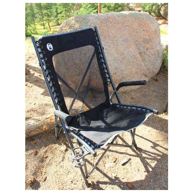 2000020292 Coleman Comfortsmart Suspension Camping Chair w/ Mesh Back & Bag | 2000020292 4