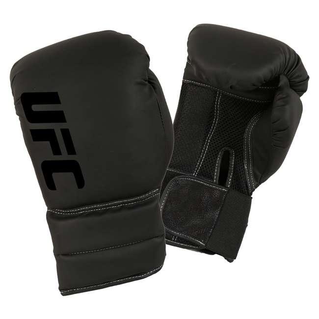 14434P-010716-BXGGLV16 Century Martial Arts UFC Men's 16 Oz Boxing Gloves, Black (2 Pack) 2