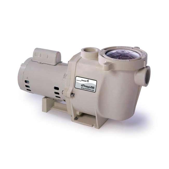 Pentair 011518 1 5 hp whisperflo efficient swimming pool pump for Pentair 1 5 hp pool pump motor