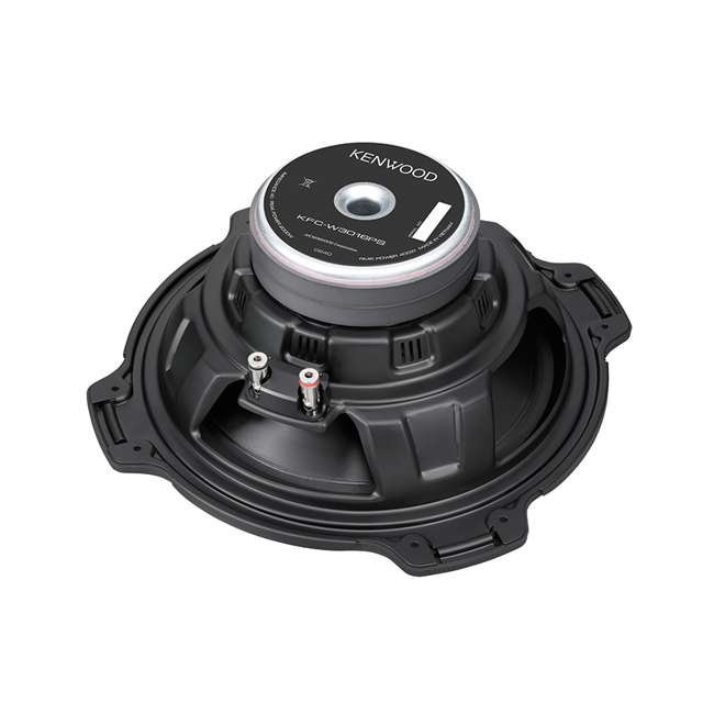 DODGEKENWOODPACKAGE Kenwood 12-Inch 2000W Subs with Dodge Ram Quad Cab '02- Box with Amplifier with Wiring (Pair) 9