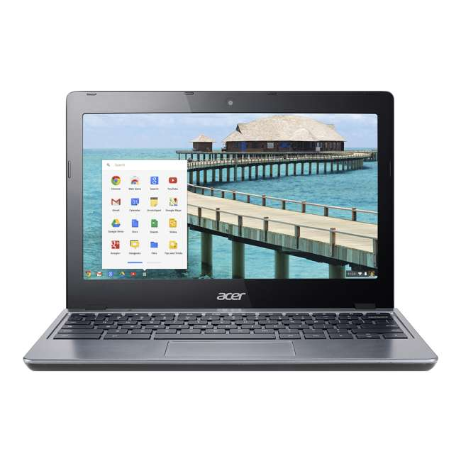 "NX.MJAAA.004-C-SKIN Acer ChromeBook 11 2955U, 4GB RAM, 16GB SSD 11.6"" Laptop (Certified Refurbished) 2"