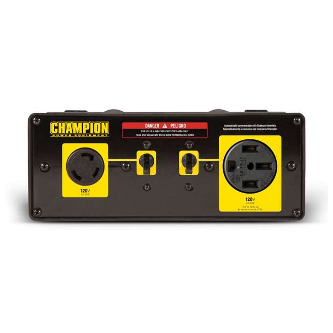 CPE-GN-100302 + CPE-AC-100319 Champion 3500W Inverter (2) + Champion 50A Parallel Kit 6